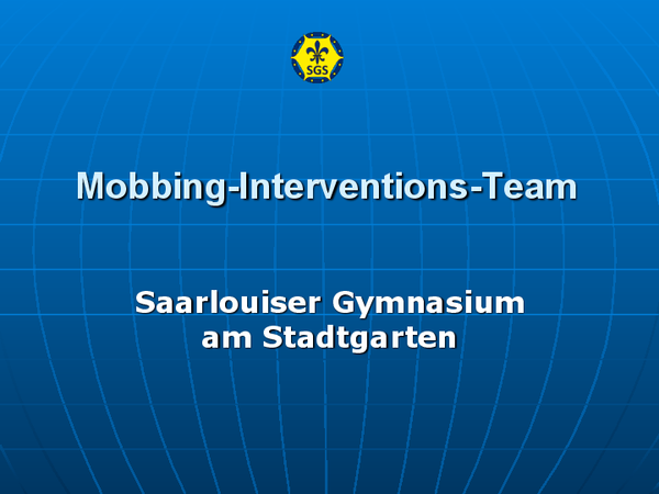 Präsentation Mobbing-Interventions-Team